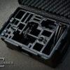Movi M5 case with BLACK overlay