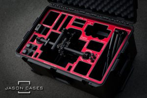 Movi M5 case with RED overlay