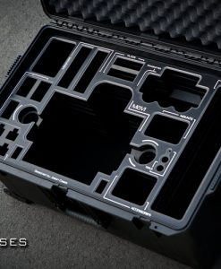 Movi M5 case with BLACK overlay