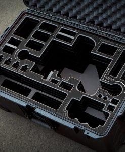 Movi M10 case with BLACK overlay