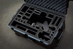 Movi M10 case with BLACK overlay