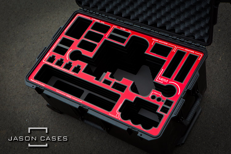 Movi M10 case with RED overlay