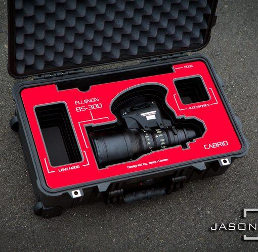 Cabrio lens case