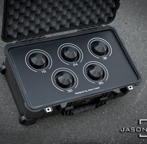 Zeiss Standard Speeds 5-lens case
