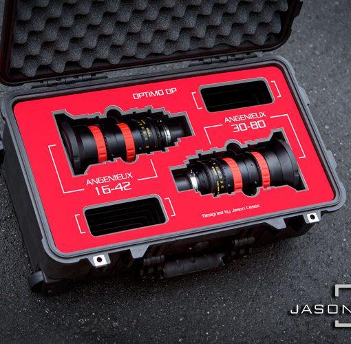 Angenieux DP Rouge 16-42mm lens case
