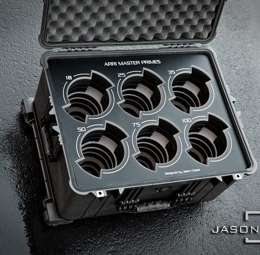 Arri Master Primes 6-lens case