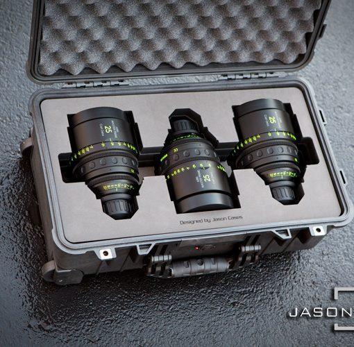 Arri Master Primes 3-lens case (COMPACT)